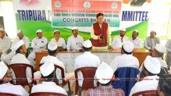 Congress Sevadal holds meeting at Congress Bhawan Agartala