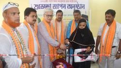 Dy CM Jishnu Devbarman Felicited Haj Yatris