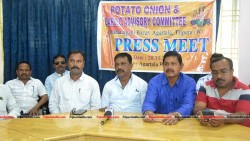 Potato Onion and Garlic advisory committee association, MGM Bazar holds press conference