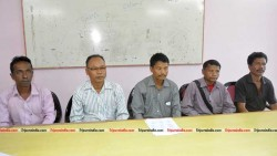 TUICP holds press conference at Agartala Press Club on November 28