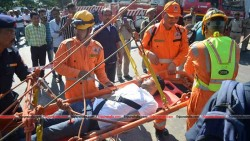 Disaster management holds the mock drill at Gorkhabasti Agartala
