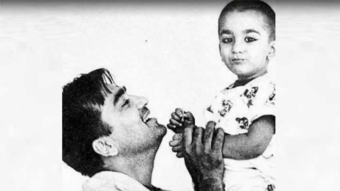 Sanjay shares childhood pic on dad Sunil Dutt's 91st birth ...