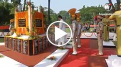 CM Biplab Kumar Deb Paid tributes to martyred Police personnels on Police commemoration day